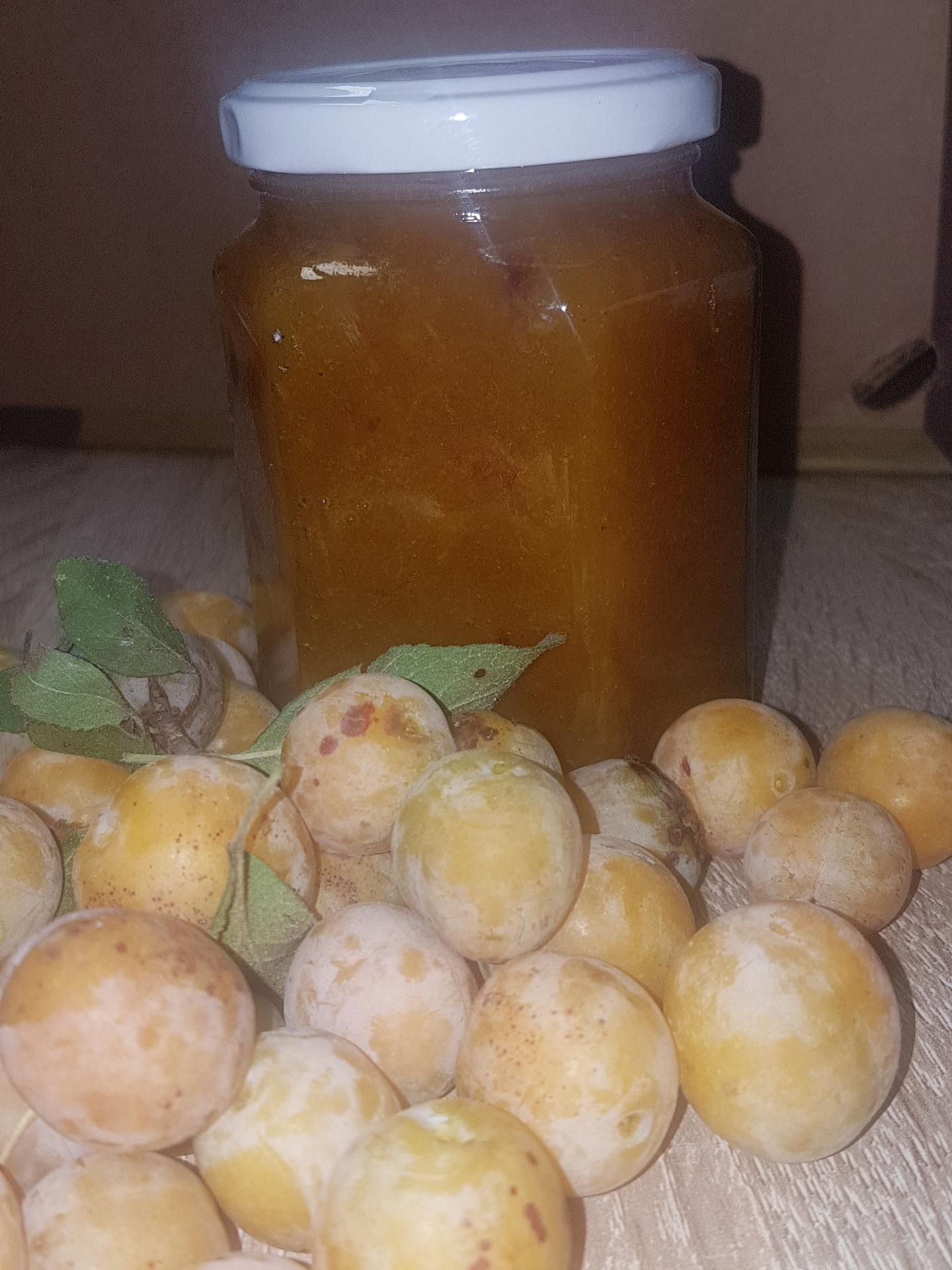 Confiture  mirabelles du verger